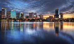 Orlando Florida Skyline   Flickr