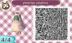 Pinestripe Pinafore Green 4