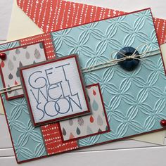 Hey, I found this really awesome Etsy listing at https://www.etsy.com/listing/186911406/get-well-soon-card-with-matching
