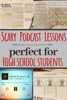 This is the perfect nonfiction podcast! The subject of the unsolved 1912 ax murders of an entire family and their guests keeps students engaged, and it aligns with CCSS since students evaluate purpose, bias, and validity of evidence. Great for Halloween o Ela Classroom, High School Classroom, English Classroom, High School Students, Classroom Themes, High School Curriculum, Future Classroom, High School Teachers, College Students