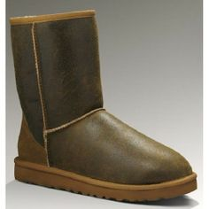 High Quality And Durable Ugg Mens Classic Short Bomber 5984 Chestnut Offer You Excellent Quality