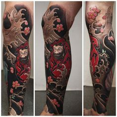 japanese-flowers-and-yakuja-leg-tattoo.jpg