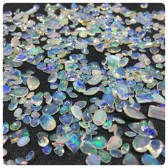 A beautiful Ethiopian Welo Opal Lot - A great play of colors and multi fire faceted cut stones in various shapes and sizes. Browse through our collection and get the best from this lot. Only on your favourite Gemsforjewels!!