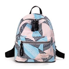 SHARE & Get it FREE | Girl's Bag Colorful Geometric Pattern Zipper Bulk  Student Travel BackpackFor Fashion Lovers only:80,000+ Items • New Arrivals Daily • Affordable Casual to Chic for Every Occasion Join Sammydress: Get YOUR $50 NOW!