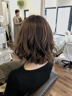 Haircuts For Medium Hair, Medium Hair Cuts, Medium Hair Styles, Curly Hair Styles, Honey Brown Hair, Korean Short Hair, Shoulder Length Hair, Korean Hairstyle Medium Shoulder Length, Aesthetic Hair