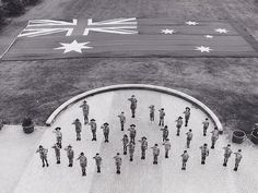 Australia Day Celebrations Flying The Flag Procession Bicentennial Park Homebush 1992
