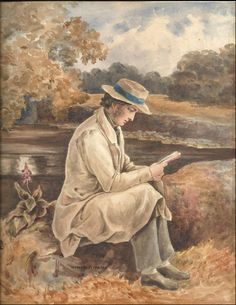 "I found the poems in the fields And only wrote them down. John Clare, from ""Sighing for Retirement"" English Poets, English Countryside, Book Authors, Retirement, Writers, Fields, Restoration, Poems, Game"