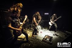 Windhand in concert (Tinnitus Photography, © Tim Bugbee)