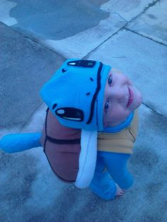 Squirtle Costume #Halloween #pokemon #turtle #sewing