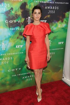 The Best Red Carpet Moments from the Fragrance Foundation Awards - Marisa Tomei
