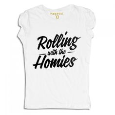 Happiness Rolling with the Homies Womens T-Shirt-31