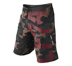 Mens Reebok CrossFit Camo Intensify Unlined Shorts at Road Runner Sports