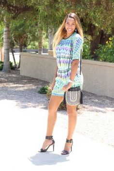 Printed Dress || Cocofashionista.com