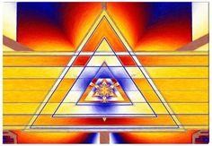 Triangle (équerre) - Art Abstrait Contemporain  - Abstract Art