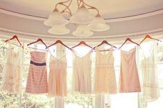 different bridesmaids dresses