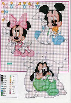 Disney Babies 8/11 point de croix