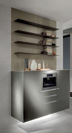 Кухонный гарнитур ICON by ERNESTOMEDA дизайн Giuseppe Bavuso