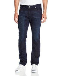 Calvin Klein Jeans Men s,Slim Straight Fit Denim Jean, Osaka Blue,32W 30L e3d485bcfc