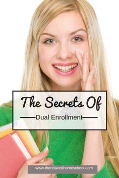 The secrets of dual enrollment! Part 1 Shhhh . It's a Secret – Dual Enrollment, Pa High School Years, In High School, High School Students, Middle School, Law School, Public School, Homeschool Coop, Homeschool High School, Homeschool Curriculum