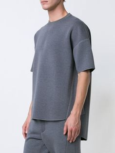 N. Hoolywood neoprene oversized T-shirt
