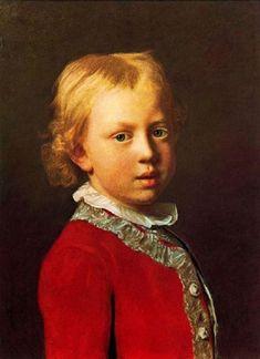 Prince Frederick William by Jean-Etienne Liotard (1702 –  1789)
