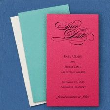 Save the Date - You name the color , we supply the Shimmer Paper!!! www.dmeventsanddesign.com