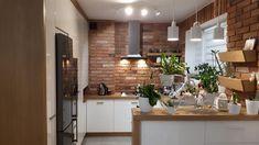 Modern Kitchen Interiors, Rustic Home Interiors, Modern Kitchen Design, Interior Design Kitchen, Rustic Kitchen, Kitchen Decor, Kitchen Sets, Home Kitchens, Living Room Designs