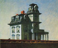 House by the Railroad - Casa con ferrovia - 1925