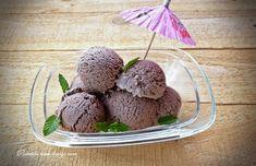 Inghetata de cacao cu lapte - Retetele Mele Dragi Cocoa and milk icecream Sorbet, Parfait, Cocoa, Muffin, Milk, Ice Cream, Pudding, Healthy, Breakfast
