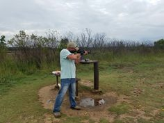 Had a rough day today doing the things I love in life. Shooting and blowing crap up