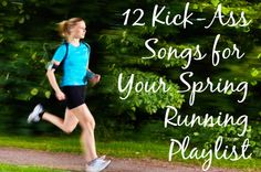 12 Kick-A Songs for Your Spring Running Playlist-- Running outdoors is one of the best ways to get your daily dose of springtime & make sure you feel great for the summer! #hammocking, #relax, #playlist, #music, #running,
