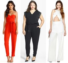 These jumpsuits are the perfect alternative to a sexy going-out dress.