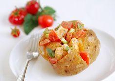 Chicken and Tomato Jacket Potato