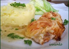 Czech Recipes, Ethnic Recipes, Poultry, Food Videos, Mashed Potatoes, Chicken Recipes, Food And Drink, Keto, Snacks