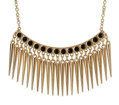 Black Spike Necklace by John Greed at John Greed Jewellery