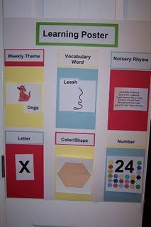Learning Time - we love this in our house!
