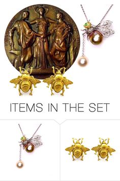"""""""Medallion ...."""" by awewa ❤ liked on Polyvore featuring art"""