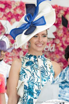 Racing Fashion: Oaks Day Fashions on the Field at Flemington Race Day Outfits, Races Outfit, Fascinator Hats, Fascinators, Headpieces, Oaks Day, Dresses For The Races, Race Wear, Spring Racing