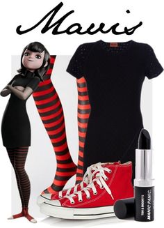 """Mavis from Hotel Transylvania"" by lazybottoms ❤ liked on Polyvore:"