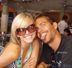 Paul Walker & his sister