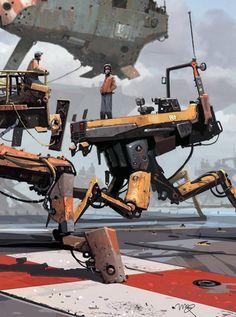 Arte Sci Fi, Sci Fi Art, Steampunk, Music Drawings, Cities, Robot Concept Art, Cyberpunk Art, Mechanical Design, Science Fiction Art