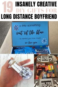 the best diy gifts for long distance boyfriend to make in 2020 Relationship Goals Tumblr, Long Distance Relationship Gifts, Long Distance Gifts, Relationships, Make Friends In College, College Gifts, College Hacks, Inspiration Room, Long Distance Boyfriend