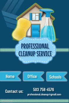 Copy of Professional cleanup service Cleaning Service Flyer, Cleaning Flyers, Cleaning Business Cards, Cleaning Hacks, Bathroom Cleaning Services, Deep Cleaning Services, Bedroom Cleaning, How To Clean Crystals, Crystal Clean