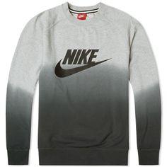 Nike AW77 Fade Crew (Grey Heather)