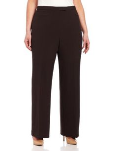 Sag Harbor Women's Slimming Panel Pant « PantsAdd.com – Every Size for Every Body