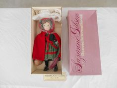 Reeves International, Suzanne Gibson 16'' Little Red Riding Hood Doll (LK) #ReevesInternational #DollswithClothingAccessories