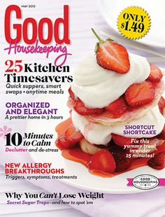 Good Housekeeping Magazine Just $.42 Per Issue! Today Only! - http://www.stacyssavings.com/good-housekeeping-magazine/