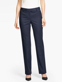 Talbots Windsor Pant - Italian Flannel - Talbots
