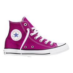 Converse Chuck Taylor All Star Fresh Colors – pink sapphire Sneakers Converse Outfits, Converse All Star, Converse Haute, Cheap Converse Shoes, Converse Trainers, Converse Chuck Taylor All Star, Chuck Taylor Sneakers, Shoes Sneakers, Converse High Tops Colors