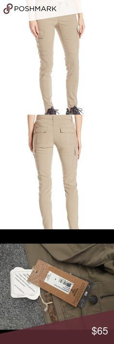 PrAna dark khaki pants women's size 8 hiking Selling because they are too small and I missed return window. Would be awesome hiking pants! PRODUCT DETAILS Our quintessential Stretch Zion fabric in a skinny leg combines style and performance. Four-way stretch and DWR water-repellent and durable finish means you can take this pant anywhere, from the streets to the campsite, the office to the trail. FABRIC DETAILS 97% nylon/3% spandex Stretch 'Zion' performance woven with durable water…